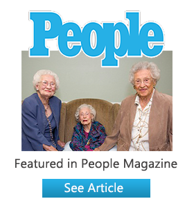 a photo of the 3 sisters featured in people magazine.