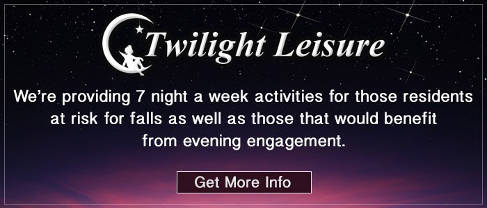 Get info on our twilight leisure program. Click here.